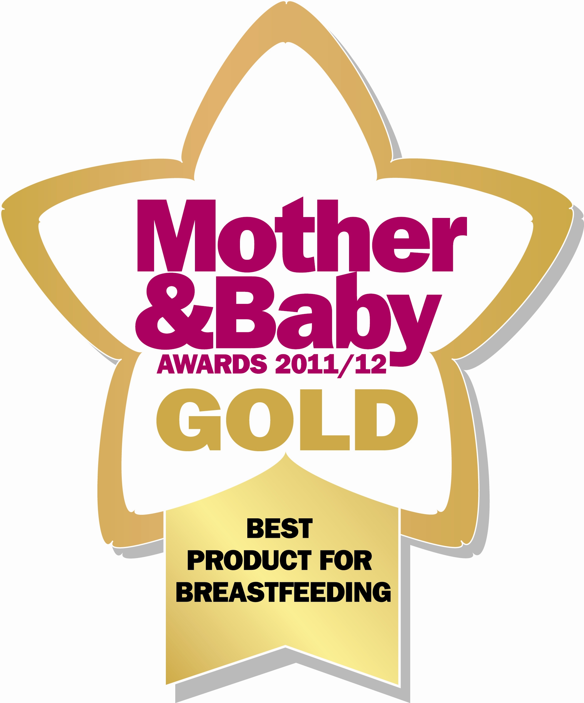 Mother and Baby Gold Award logo Styles 361 and 365