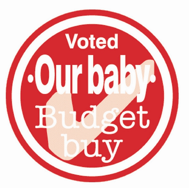 Our Baby Budget Buy Logo Style 371