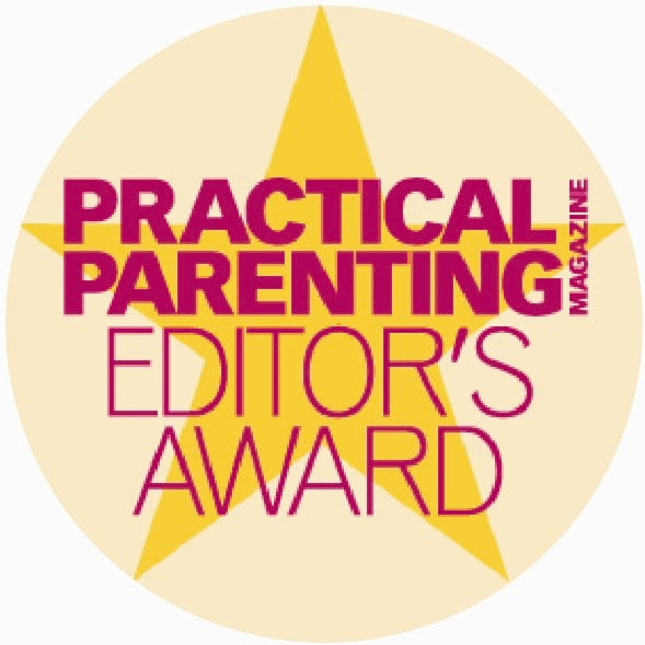 Practical Parenting Editors Award Logo Style 428
